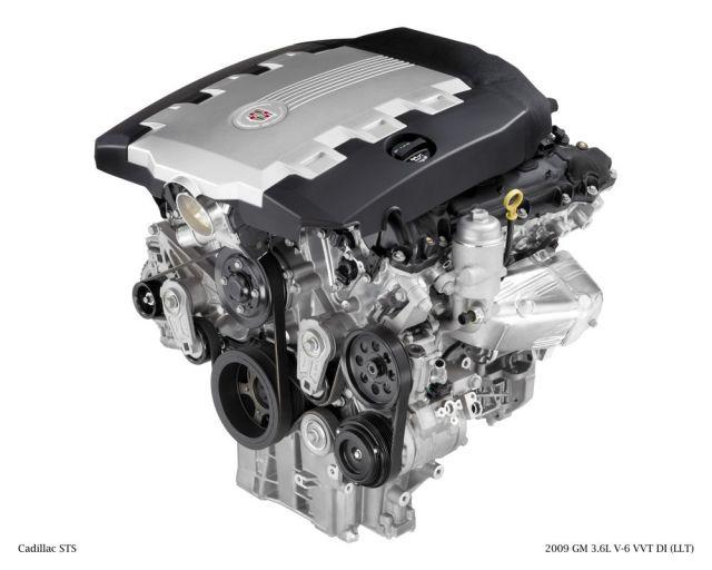 GM 3.6-liter DI VVT V-6