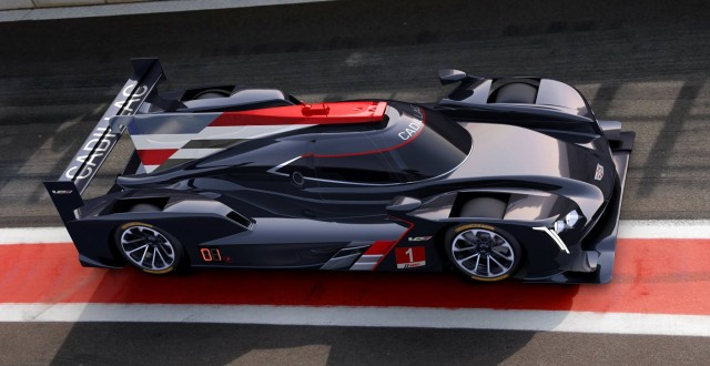 2017 Cadillac DPi-V.R race car