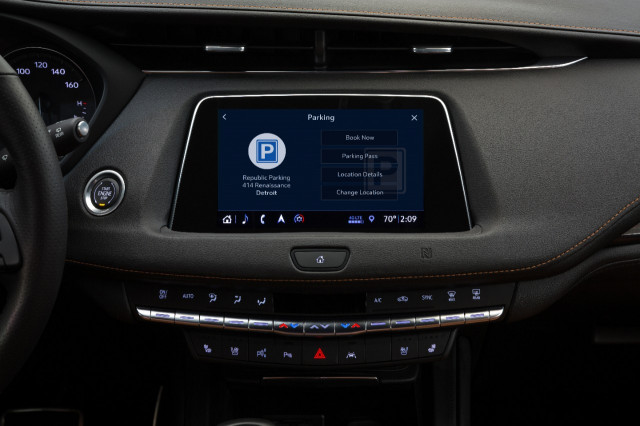 King of the garage: Cadillac's app can help find open parking spots