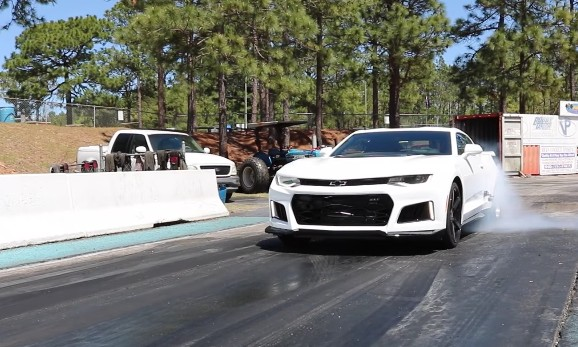 Camaro Zl1 Quarter Mile Times Dipping Into The 9s