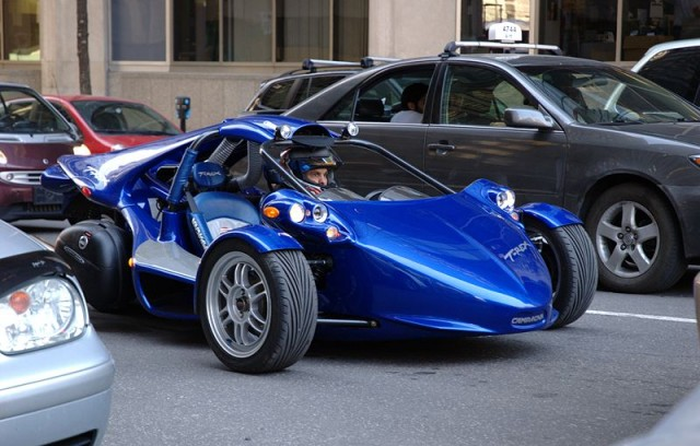 2009 Campagna T-Rex: The Car That Is Two-Thirds Motorcycle