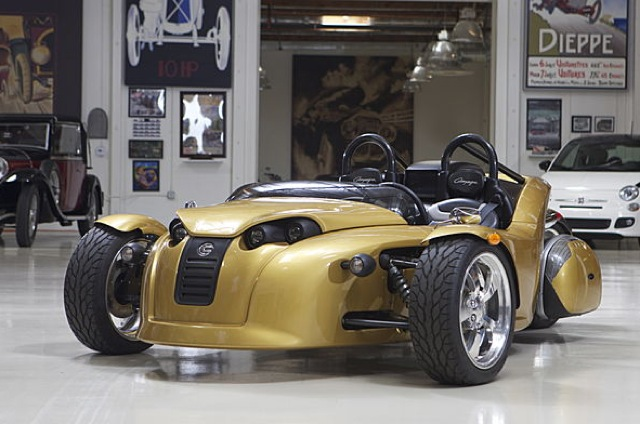 Campagna S Latest 3 Wheeler Visits Jay Leno S Garage