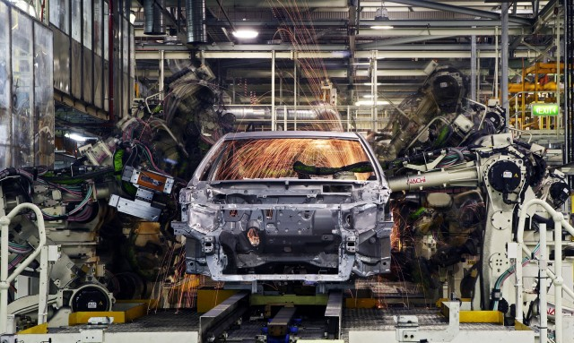 Camry production at Toyota plant in Australia