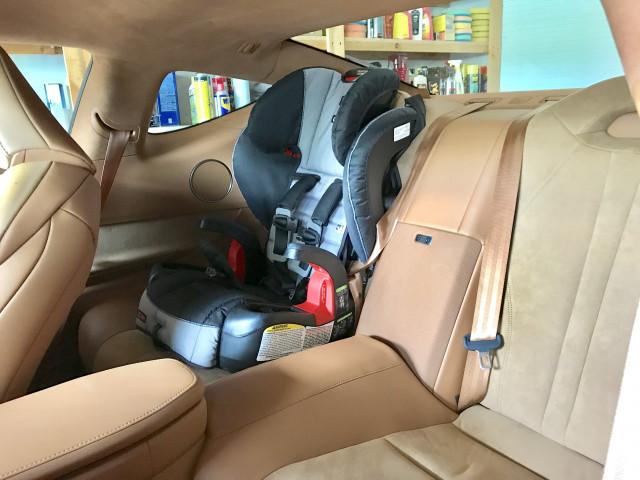 Car Seat in 2018 Lexus LC 500