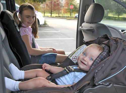 Car seats - correctly installated, AAA