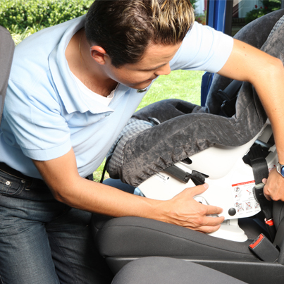 Car seats - Dad install, NHTSA