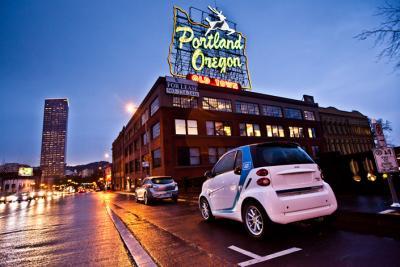 car2go - Portland, OR