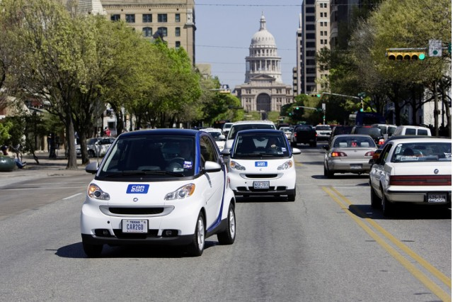Car2Go Smart ForTwo in Austin, Texas