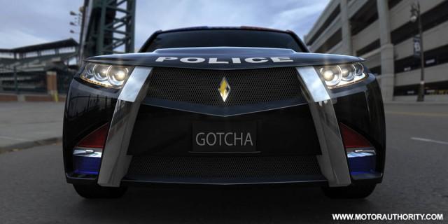carbon motors e7 police car 006