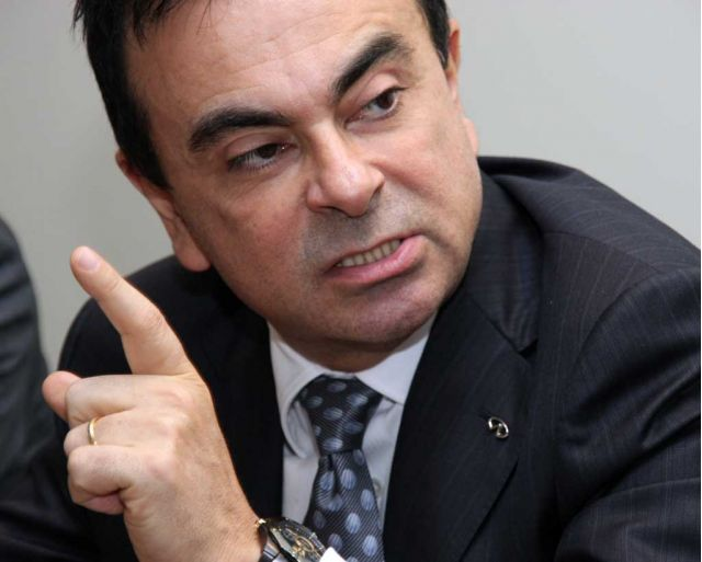 Carlos Ghosn in Geneva 3-5-08