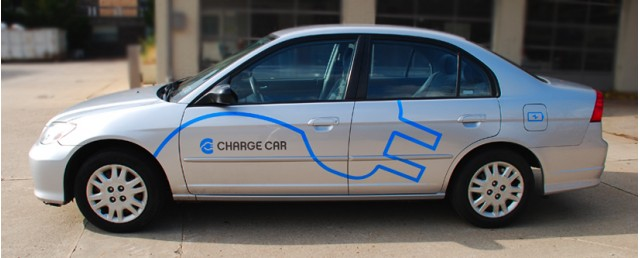 Carnegie Mellon University S Chargecar Electric Honda Civic Conversion