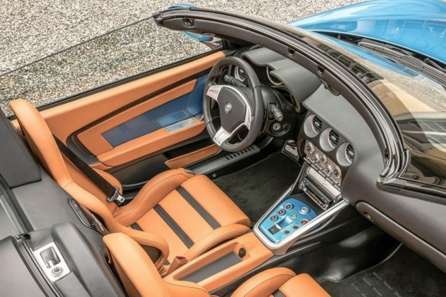 Carrozzeria Touring Superleggera Alfa Romeo Disco Volante Spyder