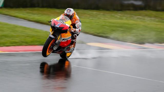 Casey Stoner conquered rain at Sachsenring - MotoGP photo