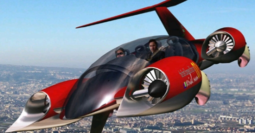 Cell Craft G440 flying car concept