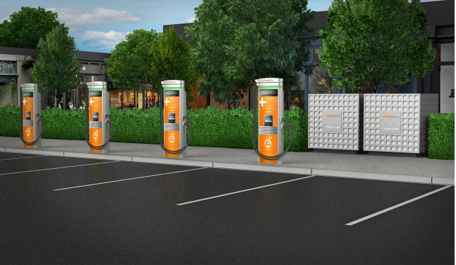 Chargepoint Express Plus Modular Dc Fast Charging System For Electric Cars Launched At 2017