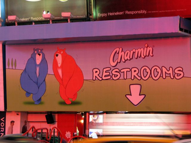 Charmin bathrooms