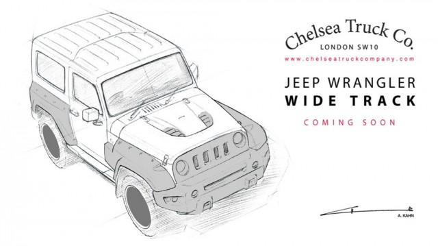 Chelsea Truck Company Jeep Wrangler Wide Track S teaser