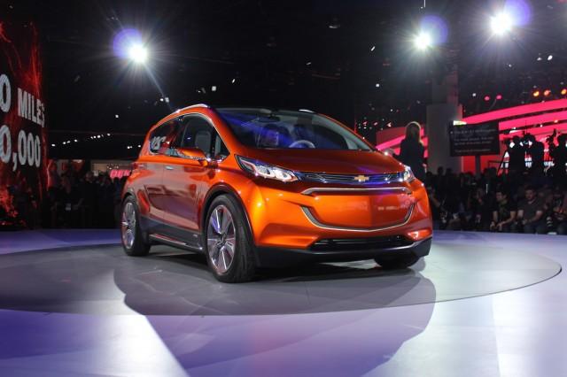 Chevrolet Bolt Concept - 2015 Detroit Auto Show live photos