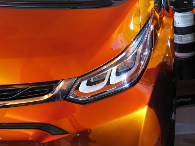 Chevrolet Bolt electric-car concept, 2015 Detroit Auto Show