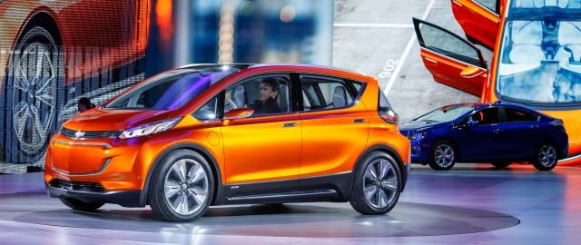 Chevrolet Bolt Ev Concept 2017 Detroit Auto Show