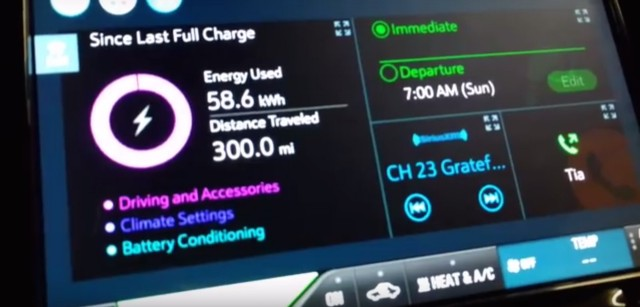 Chevrolet Bolt EV drives 300 miles [Screenshot from video by owner Glenn Williams]