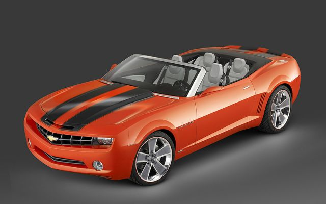 Chevrolet Camaro convertible concept