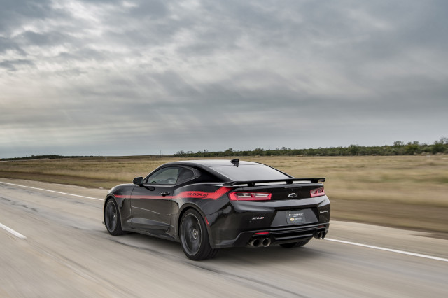Hennessey Exorcist Camaro ZL1 hits 217 mph during top speed run