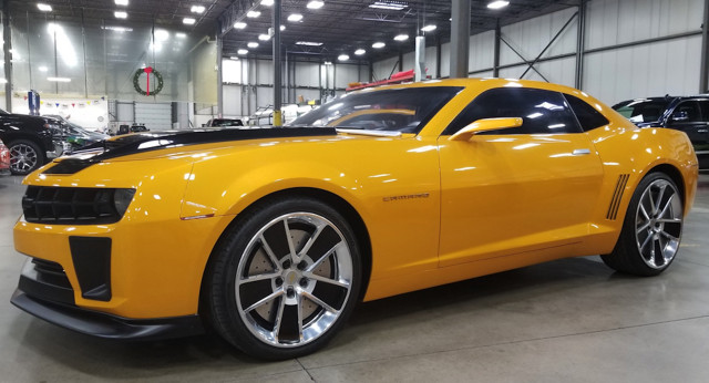 All 4 Bumblebee Camaros From Transformers Films Fetch 500 000 In Group Sale