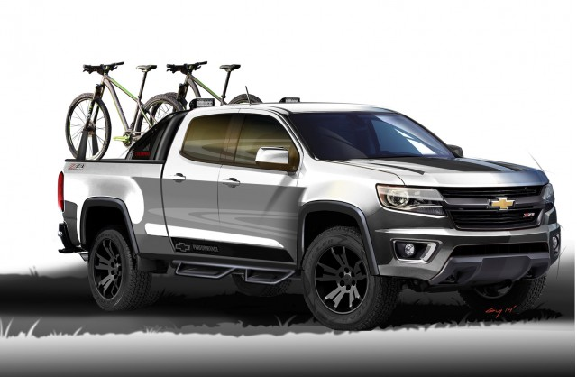 Chevy Reveals Colorado Sport And Silverado Toughnology Truck Concepts
