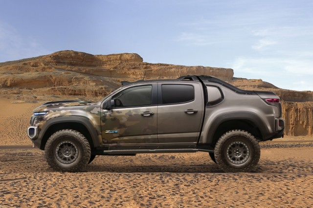 Chevrolet Colorado ZH2 hydrogen fuel-cell vehicle