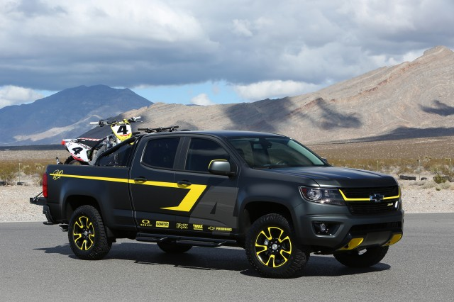 Chevy Colorado Performance Concept, 2014 SEMA show