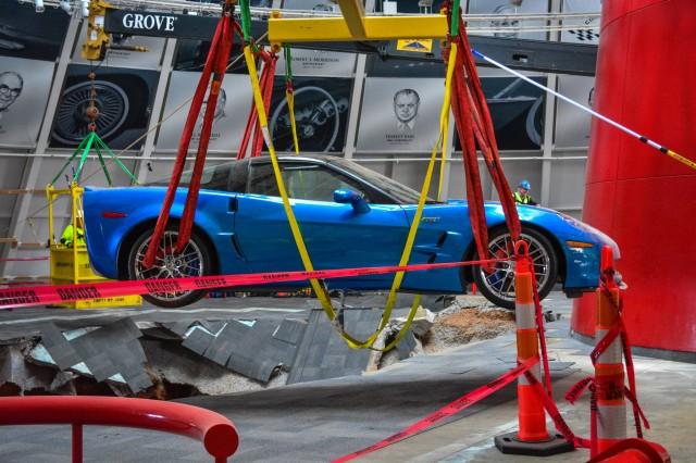 2009 Chevrolet Corvette ZR-1 Blue Devil Sinkhole Recovery
