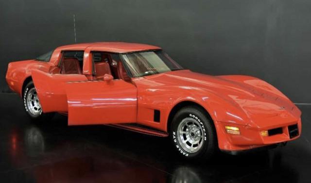 Heretical four-door 1980 Chevrolet Corvette for sale for $217,203