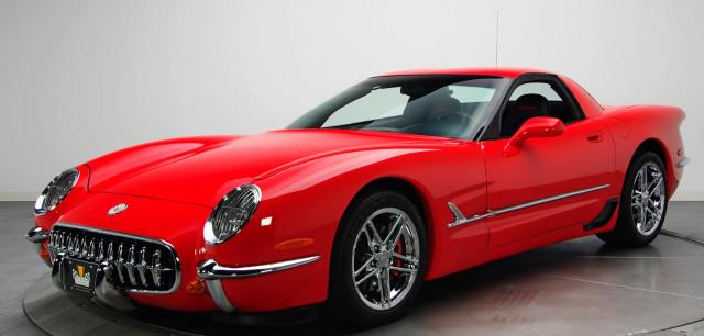 2001 Chevrolet Corvette retro rebody by AAT