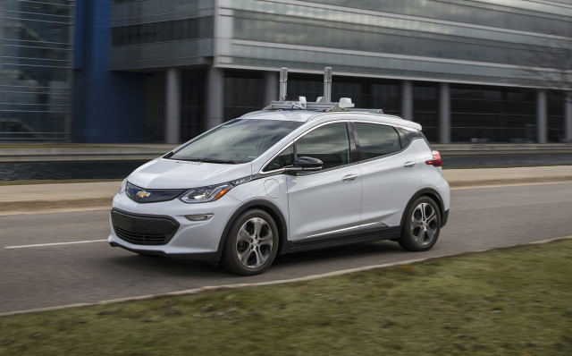 Chevrolet Cruise AV self-driving car