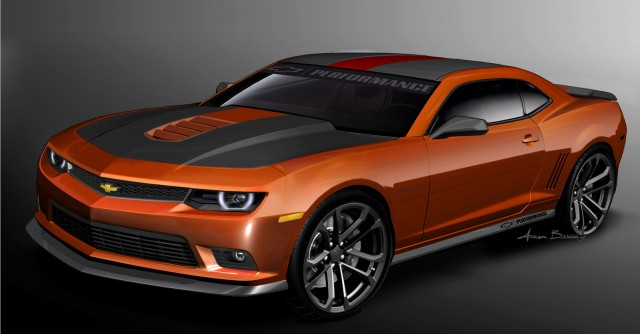 2014 Copo Camaro Headlines Chevy S Fleet Of Sema Camaros