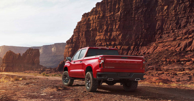 2019 Chevrolet Silverado 1500 Trail Boss takes bowtie ...