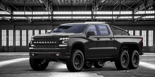 Chevy Silverado Based Hennessey Goliath 6x6 Revealed With 705 Horsepower