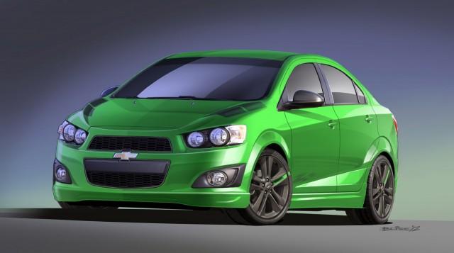 Chevrolet Sonic Z-Spec 2012 SEMA concept
