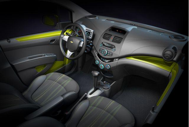 Chevrolet Spark - interior