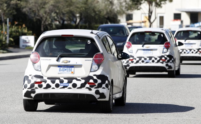 Chevrolet Spark EV Development Testing in Southern California, March 2012