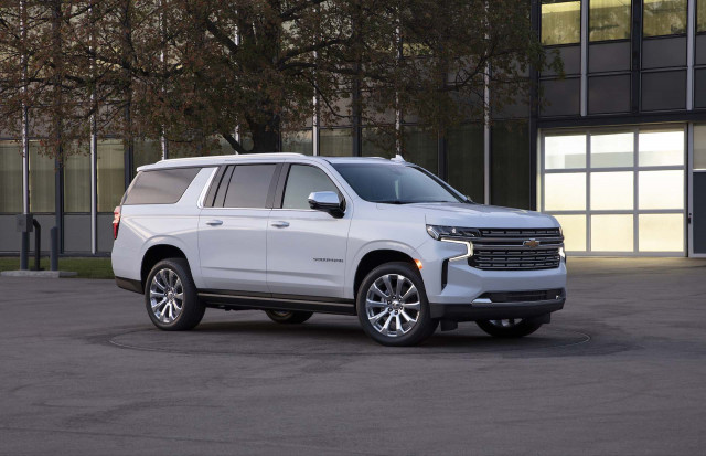 Redesigned 2021 Chevrolet Tahoe and Suburban gain size ...
