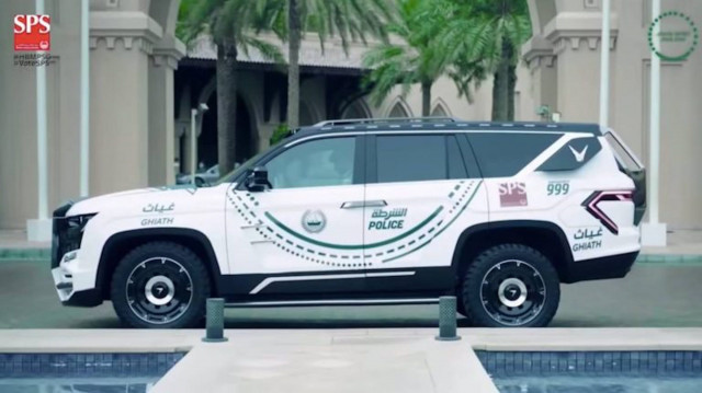 Dubai Police enlist Chevy Tahoe-based Giath SUV