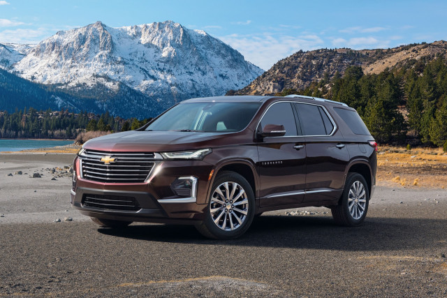2021 Chevrolet Traverse refreshed with new look, latest tech