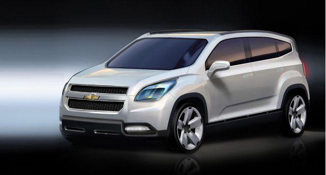 2008 Chevrolet Orlando Concept