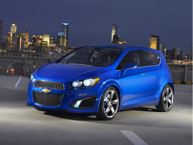 2011 Chevrolet Aveo Shown Sans Disguise Thanks Photoshop