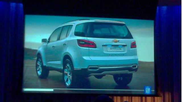 2013 Chevrolet Trailblazer Concept