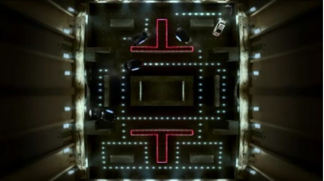 Chevy Cruze T plays a giant game of Pac Man