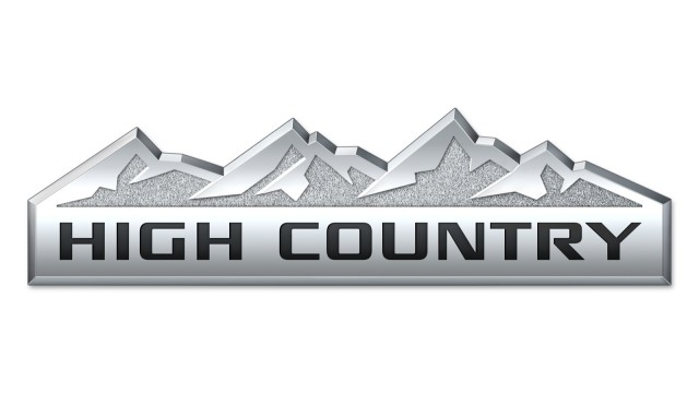 Chevy Silverado High Country badge