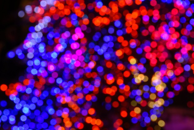 Christmas lights [Image by Flickr user Andy Peters]